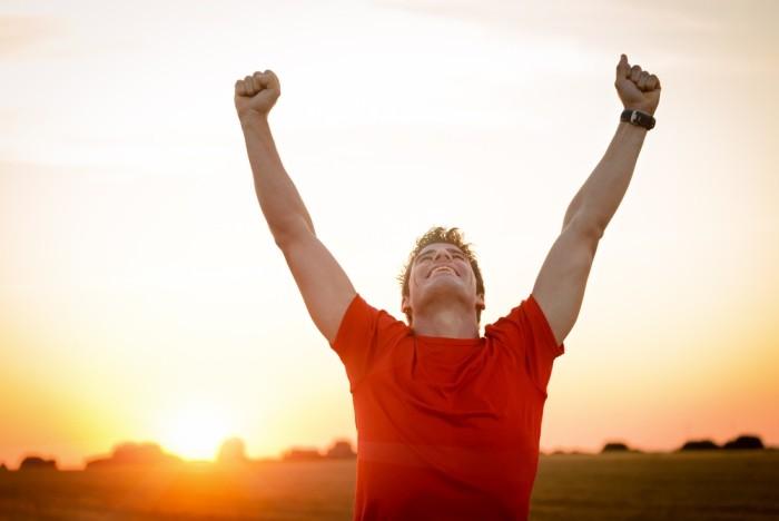 успех, достижение цели