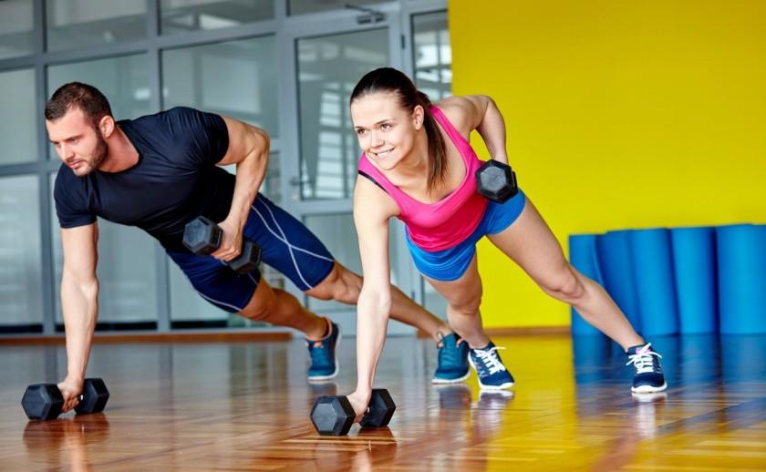 тренировка, фитнес