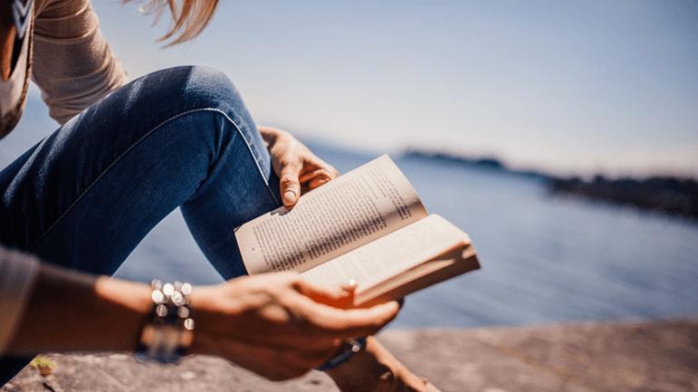 книга, чтение, девушка