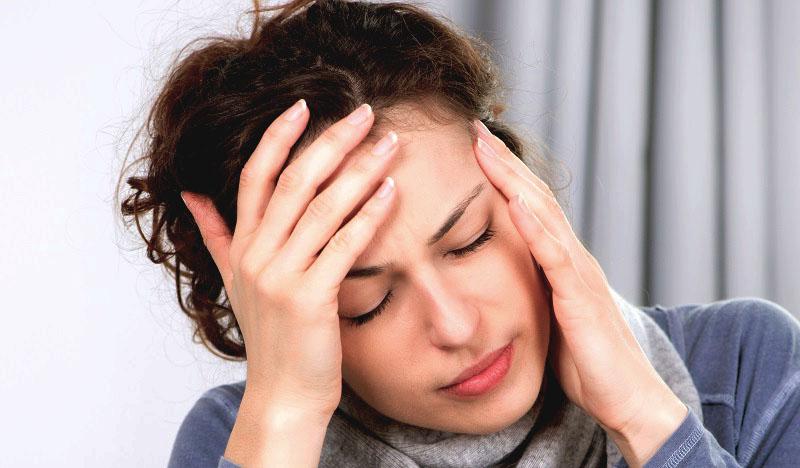 головная боль, спутанность сознания