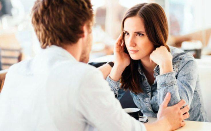 диалог между парнем и девушкой