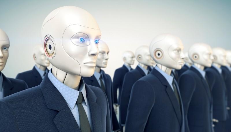 люди роботы