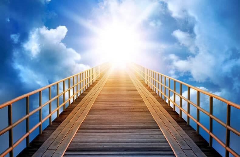 лестница в небо, в рай