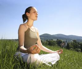 медитация на воздухе