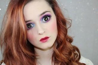 макияж как у куклы