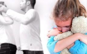 скандал в семье при ребенке