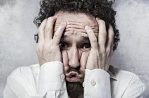 стресс, испуг, паника