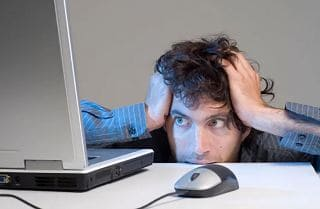 компьютер паника тревога