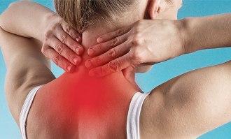 боль в области шеи, плеч