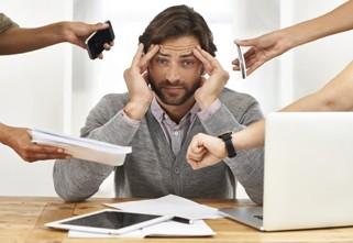 стресс, переутомление, работа