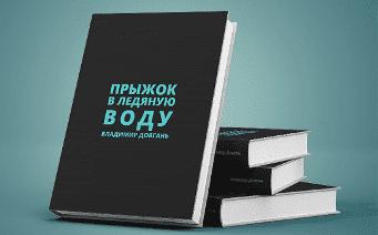Книга Довганя Прыжок в ледяную воду