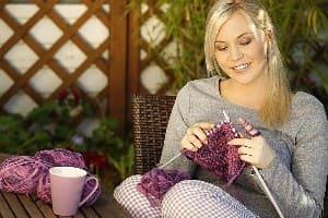 вязание, хобби, увлечение
