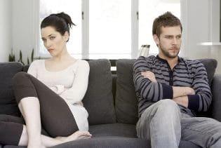 скандал между мужем и женой
