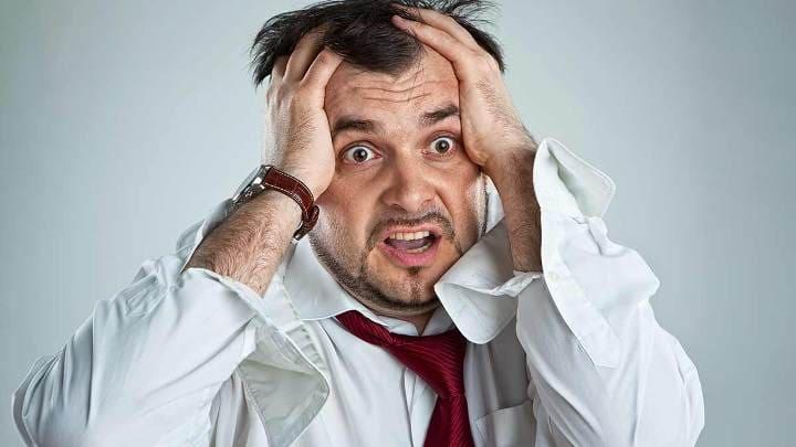 у мужчины паническая атака на работе