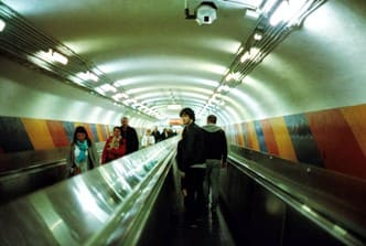 боюсь ездить на эскалаторе в метро