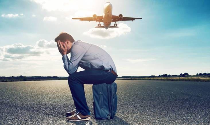паническая атака во время полета на самолете