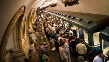 метро в час пик, страх