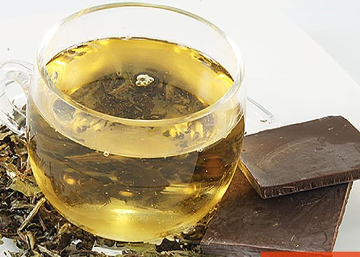 зеленый чай с шоколадом для памяти