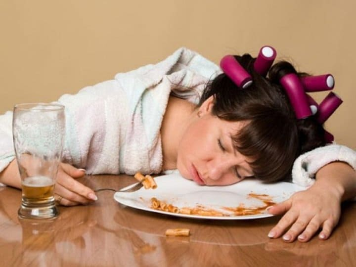 сонливость во время еды