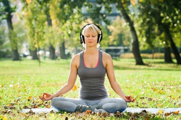 медитация, расслабление