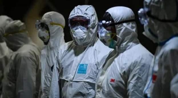 защитные костюмы коронавирус