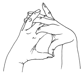 Мудра от брадикардии