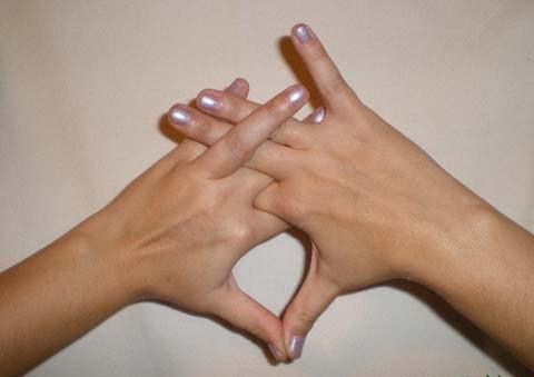 Мудра от брадикардии положение рук