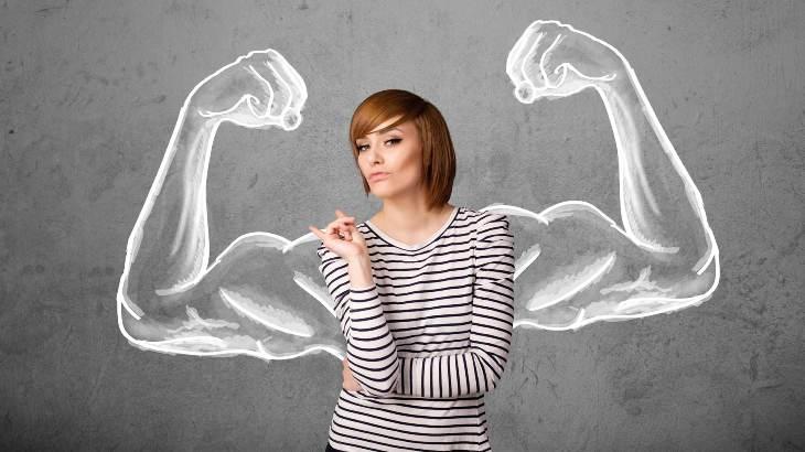 сильная женщина