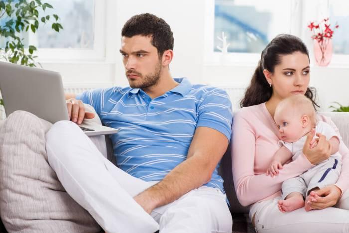 муж поссорился с женой