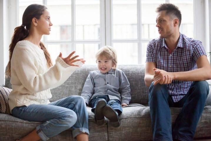 родители ссорятся